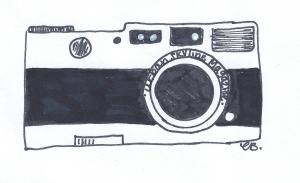 Urban Skyline Magazine Camera